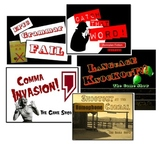 Game Show Mania - Five Fun ELA PowerPoint Review Games