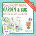 Garden/Bug Themed Classroom Decor & Back-to-School Essenti