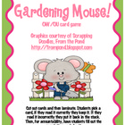 Gardening Mouse! Ou/Ow game!