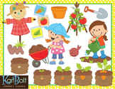 Gardening Vegetables Clip Art