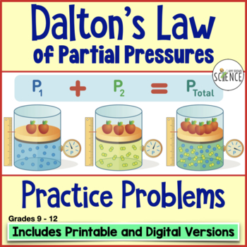 daltons law of partial pressure essay