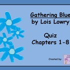 Gathering Blue Chapters 1 - 8 Quiz