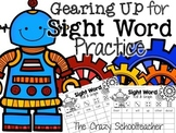 Gearing Up for Sight Word Practice {Roll & Graph}
