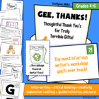 Gee, Thanks: A Hilarious Letter-Writing Workshop for Grade