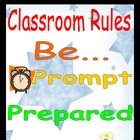 General Classroom Rules Poster