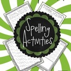 Generic Spelling Activities to Use With Any List of Words