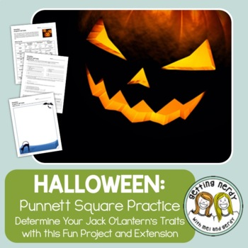 Punnett Square Practice - Jack O' All Traits Halloween Genetics