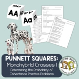 Genetics: Punnett Square Practice- You're Such a Square