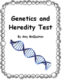 Genetics and Heredity Test