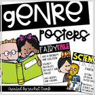 Reading Genre and Text Types Display Posters