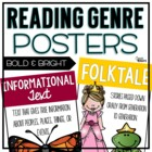 Genre Posters {Bolds and Brights}