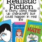 Genre Reading Poster Freebie: Realistic Fiction