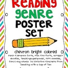 Genre Reading Posters Chevron Edition