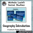 Geography And History Overview Powerpoint Lecture Notes