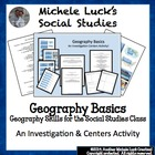 Geography Basics Review Games Centers Activities & Wrap-up