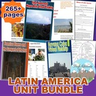 Latin America & Sustainability Unit Bundle (Geography)
