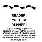 Geography Content Review Game: Reader, Writer, Runner (Tur