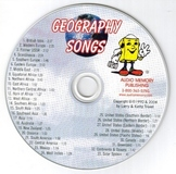 Geography Songs CD by Kathy Troxel/Audio Memory 2010