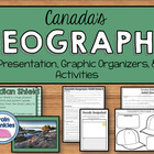 Geography of Canada: Physical Features Notes & Activities