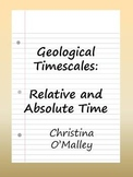 Geologic Timescales: Understanding Relative and Absolute Time