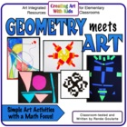 GeomARTry - Geometry Integrated Art Lessons