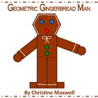 Geometric Gingerbread Man