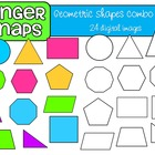 Geometric Shapes Clip Art Set