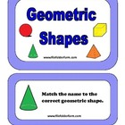 Geometric Shapes Folder Game