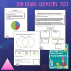 Geometry 3rd Grade Assessment - CCSS
