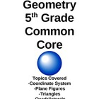 Geometry-4th, 5th, or 6th Grade-Common Core Aligned