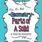 Geometry - Parts of a Solid