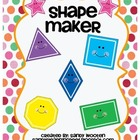 Geometry Pattern Block Shape Maker Math Station & Math Tal