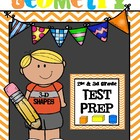 Geometry Tests Prep-2nd Grade