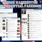 George Washington Fakebook Facebook Page 1st Term of Presidency