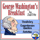 George Washington's Breakfast by Jean Fritz PowerPoint Activities