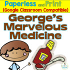 George's Marvelous Medicine Literature Packet