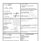 Georgia Accelerated Math 1 Targets Set 8