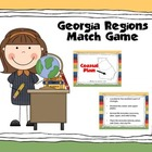 Georgia Regions Memory Match Game