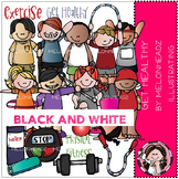 Get Healthy bundle by Melonheadz black and white