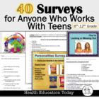 My Favorite Surveys: 40 Surveys to Spark Interest in Your