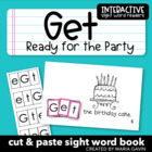 "Interactive Sight Word Reader ""Get Ready for the Party"""