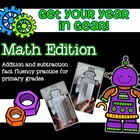 Get Your Year in Gear Math Edition