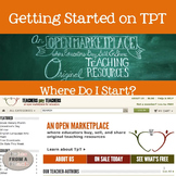 Getting Started on TPT: Tips for Creating & Selling Products