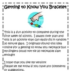 Getting To Know You Bracelet