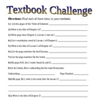 Getting to Know Your Science Textbook Challenge