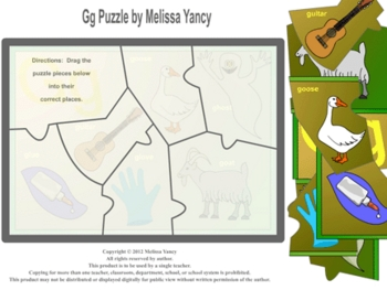 Gg Puzzle by Melissa Yancy for pc