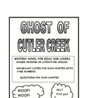 Ghost of Cutler Creek vocabulary and questions
