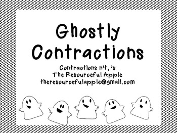 Ghostly Contractions *Freebie*