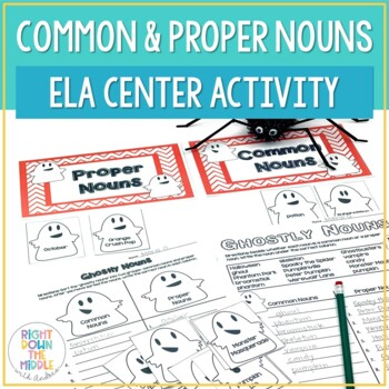 Ghostly Nouns {Common Nouns and Proper Nouns}