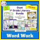 Giant 1st Grade Literacy Bundle: 5 Foundational Skill Packs